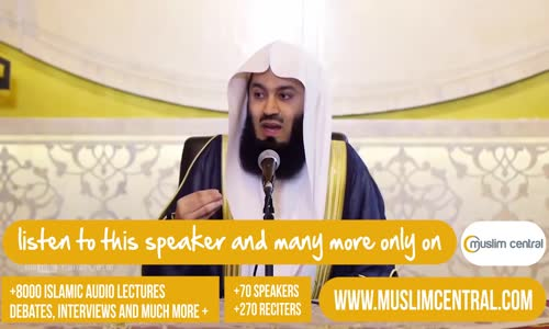 Become a Role Model for Your Child _ Mufti Menk