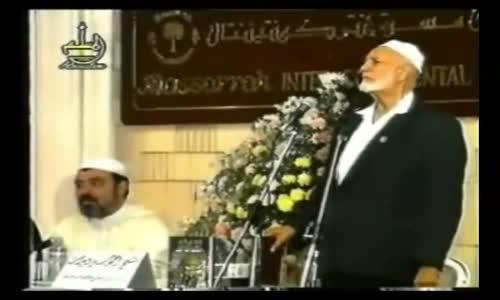 ر هيلارى كلينتون والكونجرس على عودة الشيخ أحمد ديدات لهم للإسلام