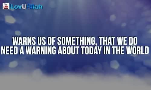 WARNING FROM ALLAH  _ Emotional _ Mufti Menk