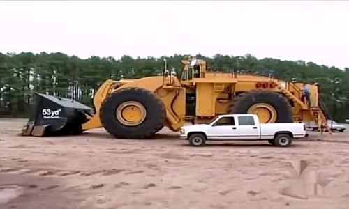 The world's biggest front-end wheel loader - LeTourneau L-2350