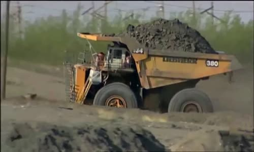 The Largest Dump Truck Liebherr T282B
