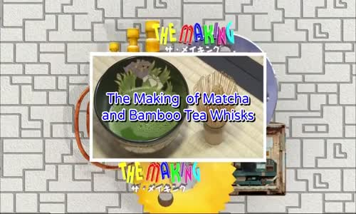 How It's Made - How To Make Matcha Tea and Bamboo Tea Whisks