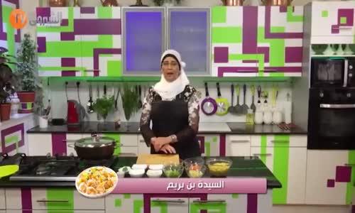 وصفة طبخ و تحلية   في مطبخ السيدة بن بريم - شوربة عدس   سفيرية بالخرشف   خبز تونس