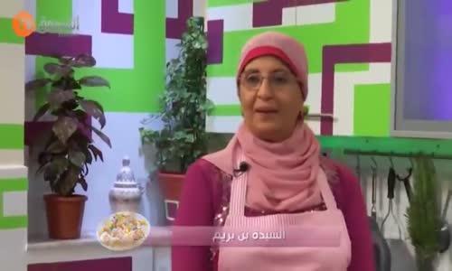 وصفة طبخ  في مطبخ السيدة بن بريم - فيرين بحوت السومون و الكريمة    طبق الحوت بالخضر