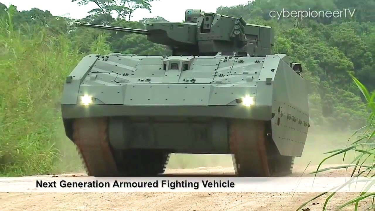 Singapore Next Generation Armoured Fighting Vehicle