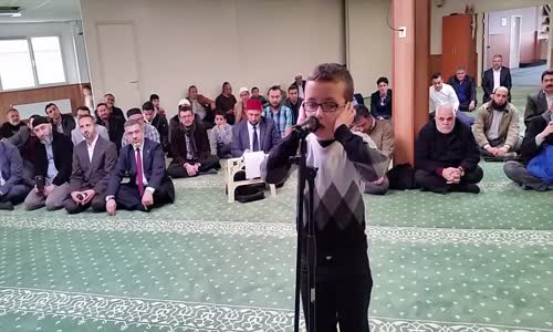 Child Beautiful Call to Prayer  Adhan