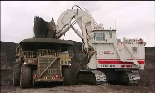 World's largest Hydraulic Shovel Terex RH400