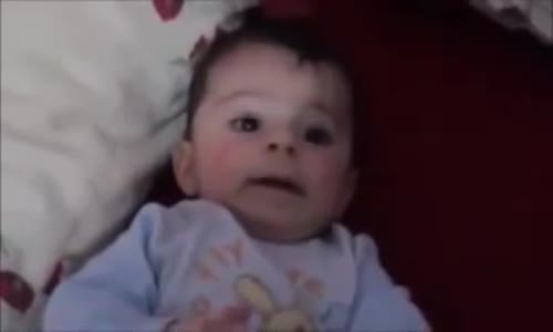Baby cries to music but LOVES Quran  Mash'Allah