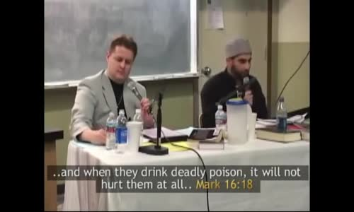 Christian refuses to Drink Poison Because Bible verses have been FORGED!!!
