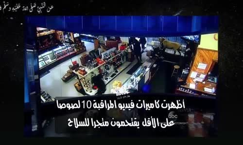 شاهد بالفديو سرقة متجر أسلحة بأمريكا في أقل من دقيتقين (مترجم)