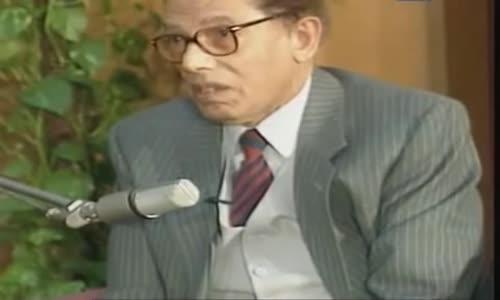 لقاء إذاعى نادر ... د_ مصطفى محمود فى حديث الذكريات