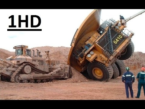 heavy equipment accidents caught on tape most amazing excavator accidents compilation
