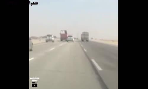 كيف نجحت دوريات الدمام في إيقاف قائد شاحنة متهور