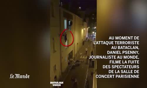 فيديو مباشر من هجمات باريس . هروب وصراخ تحقيق أسلامي