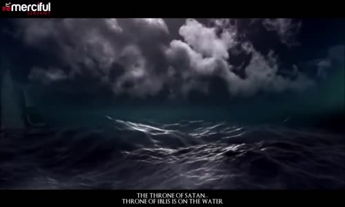 Satan's Throne in the Ocean