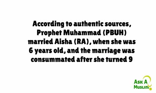 The Truth about Muhammad and Aisha  (pbuh)