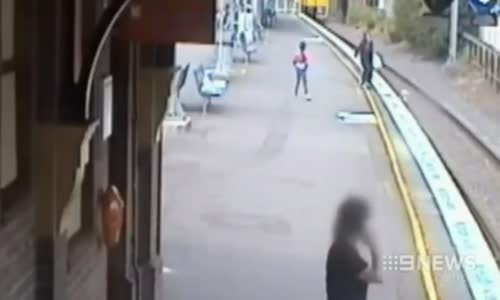 WATCH Muslim Woman Save a Child's Life