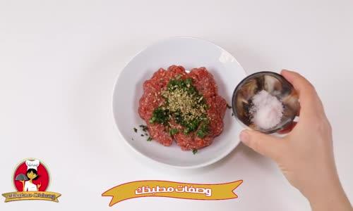   وصفة الباذنجان المحشي في الفرن  Recipe Stuffed Eggplant in The Oven