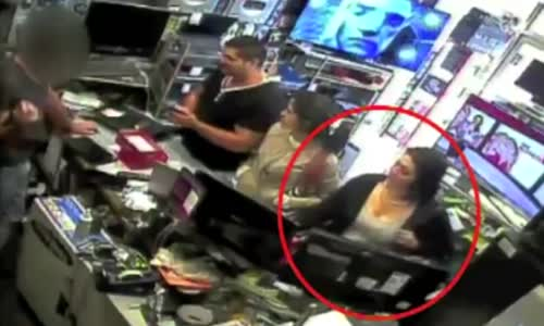 Woman Caught Trying To Steal An Ipad