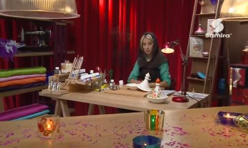 طاجين مزين بألوان السيراميك حصة فن و إبداع