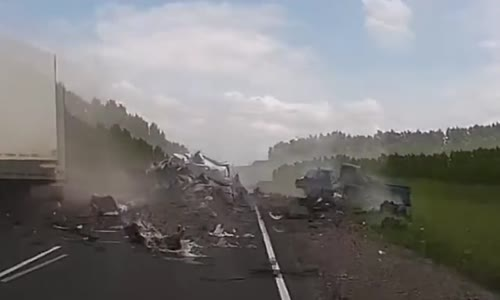 Deadly road accident in Russia