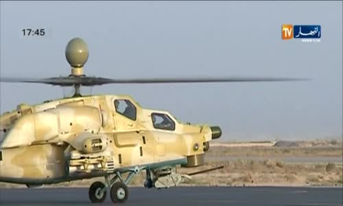 Algeria Shows Mi-28NE Helicopters for the First Time