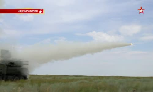 Pantsir-S1 Air Defense Missile-Gun System Live Firing
