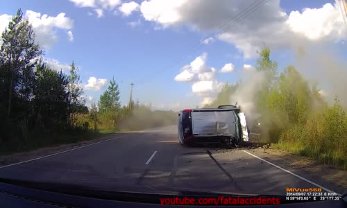 Horrific Fatal Head-on Car Crash