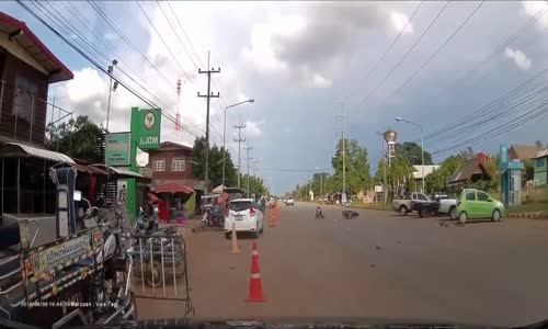 Terrible Bike Accident in Thailand
