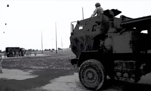 M142 HIMARS (High Mobility Artillery Rocket System) MLRS