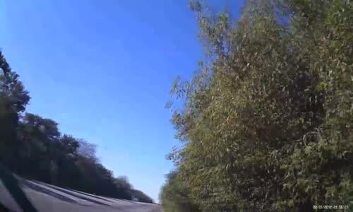 Brutal fatal head-on car crash in Ukraine
