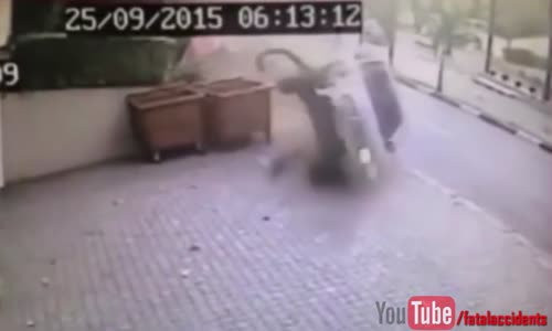 Luckiest jogger escapes death within inches