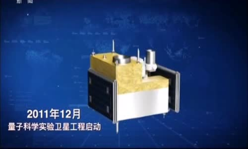 China Launched World's First Quantum Communications Satellite