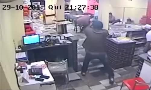 Attempted Robbery Turns Into A Shoot-Out