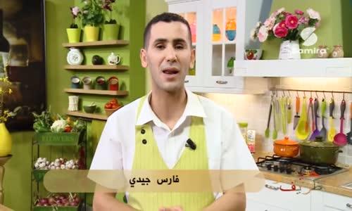 سوفلي البطاطا محشي بالسبانخ و جبن الركفور الشيف فارس جيدي حصة خفيف و ظريف  