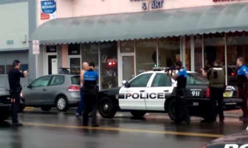 Miami Police Shoot Bank Robbery Suspect