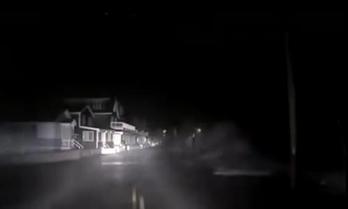 Massive Storm Surge Sparks Power Explosion