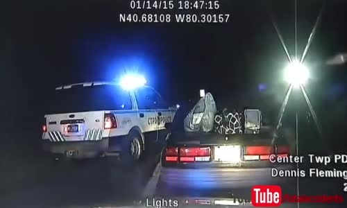 Woman Steals Cop Car With Hands Cuffed Behind Her Back