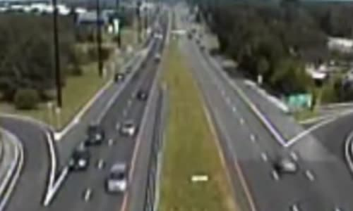 Cessna makes emergency landing on crowded highway