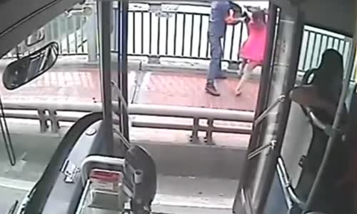 Bus driver saves suicidal woman from jumping