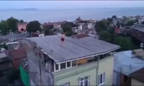 Man high on Bonzai jumps into pool