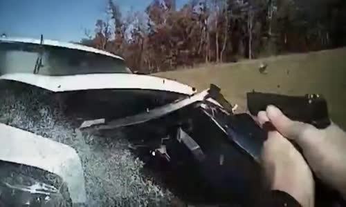 Crazy Drugged Woman in Stolen SUV on Rampage