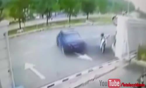 Instant Justice For Car Thief