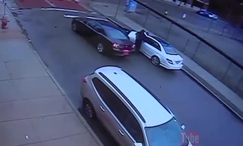 CCTV Shows Execution Style Shooting In Detroit