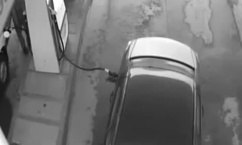 Man's skull cracked by gas pump nozzle