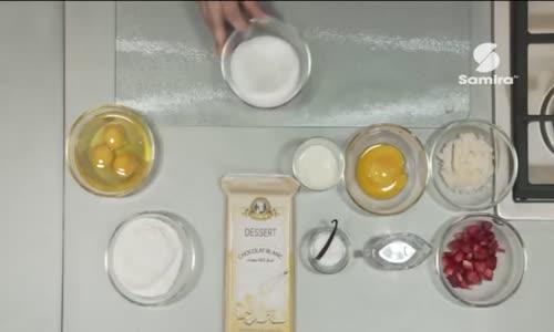 طريقة تحضير موس بالشوكولا البيضاء و الفريزة من برنامج اوبيرا 
