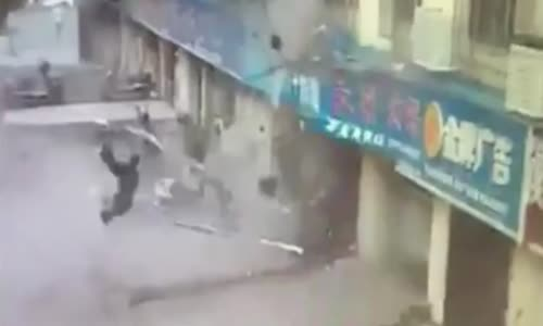Explosion In China Annihilates Man
