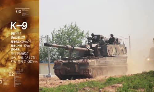 South Korean K9 _Thunder_ Self-Propelled Howitzer