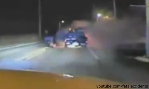 Officer Pulls Man From Burning Truck - Saves Life