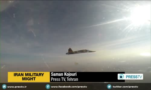 Iranian _Saeqeh 2_ Supersonic Trainer & Light Fighter Aircraft